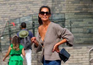 Katie Holmes : Zara dévoile un cardigan et soutien-gorge inspirés de son ensemble culte