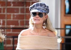 Laeticia Hallyday fait renaître la casquette gavroche
