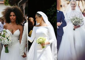 Meghan Markle, Chiara Ferragni, Tina Kunakey… : les plus belles robes de mariée de 2018