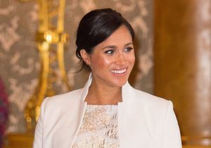 Meghan Markle : rayonnante pour une réception privée au palais de Buckingham