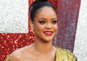 Rihanna assure en robe vaporeuse et baskets