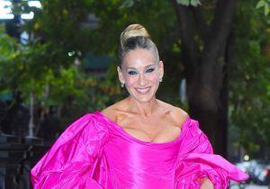 Sarah Jessica Parker dans une impressionnante robe rose : la photo incroyable !