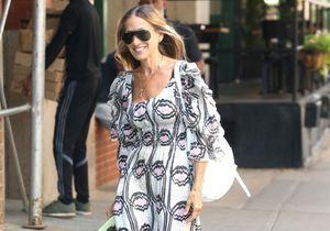 Sarah Jessica Parker porte la maxi-robe parfaite pour une soirée d'été