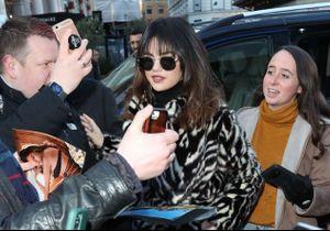 Selena Gomez ne jure que par ce manteau d'hiver Mango