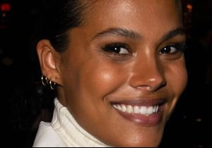 Tina Kunakey : son look étonnant (mais stylé) pour une balade avec Vincent Cassel