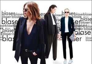 20 façons d'avoir du style avec un simple blazer noir