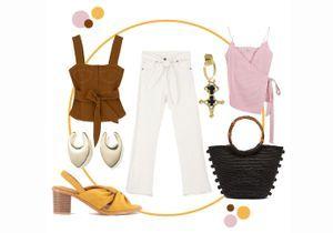 Comment porter le jean blanc ?