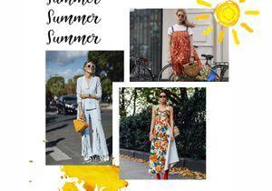 Mode estivale : 5 associations pour un été au beau fixe