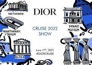 Dior : suivez le défilé Croisière en Grèce en direct