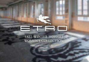 Fashion Week de Milan : suivez le défilé Etro en direct