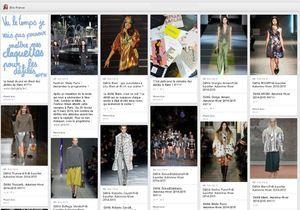 Fashion Week de Paris: suivez les célébrités sur Pinterest