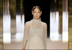 Kate Moss et sa fille Lila Grace défilent ensemble pour Fendi Haute Couture