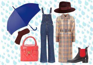 15 pièces que l'on accorde quand il pleut des cordes