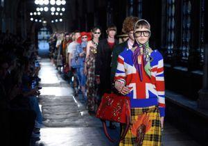 2 Juin 2016 : Gucci crée la controverse en défilant à l'abbaye de Westminster