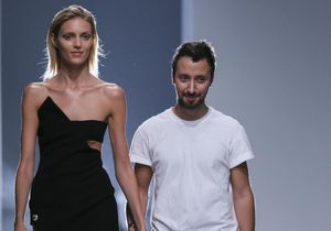 Anthony Vaccarello quitte Versus