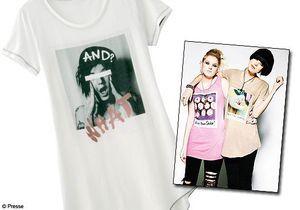 Agyness Deyn et sa sœur dessinent des tee-shirts pour Uniqlo !