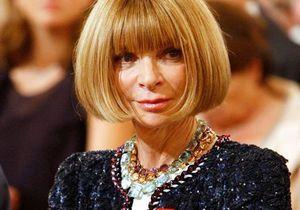 Anna Wintour décorée par Sarkozy