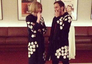 Anna Wintour et Marc Jacobs spottés dans le même manteau