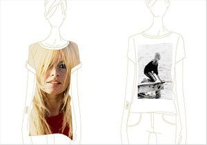 Brigitte Bardot inspire une collection de tee-shirts Maje
