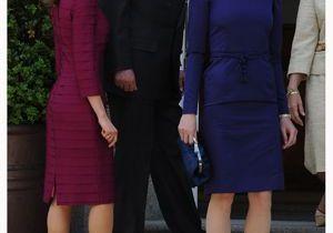 Carla Bruni-Sarkozy et Letizia d'Espagne : deux divas glamour