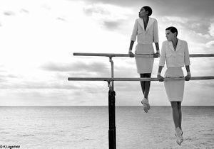 Chanel : des gymnastes couture pour la campagne printemps-été