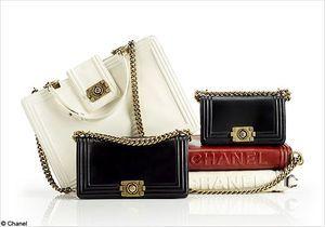 Chanel  lance les sacs « Chanel Boy »