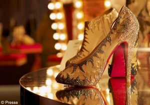 Christian Louboutin : ses semelles rouges s'exposent