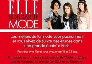 ELLE Solidarité Mode : le grand concours pour devenir la styliste de demain
