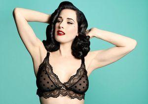 Enceinte et sexy avec la lingerie de Dita von Teese