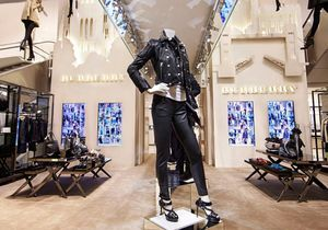 Exclu : un pop-up store Burberry au Printemps