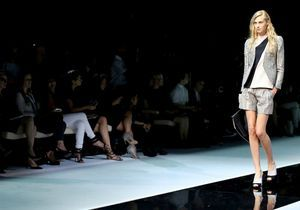 Fashion Week de Milan : le défilé Emporio Armani en live à 10h30