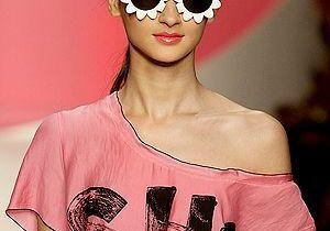 """Fashion Week de Milan : voici les lunettes """"fleurs"""" !"""