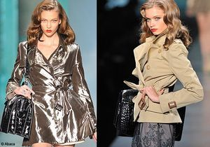 Fashion Week Paris : le trench, star chez Dior !