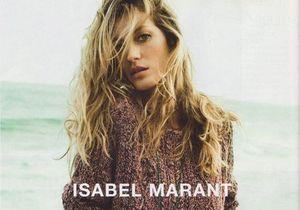 Gisèle Bündchen pose pour Isabel Marant