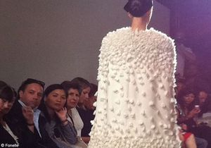 Haute couture:Sophie Fontanel craque pour Giambattista Valli