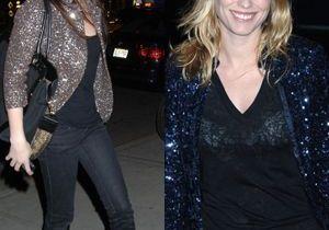 Jean et veste à strass: la panoplie des It girls new-yorkaises