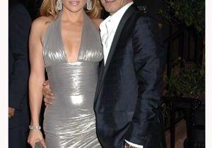 Jennifer Lopez, sirène en lamé argent pour ses 40 ans