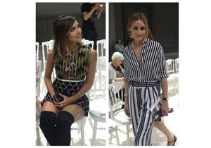 Jessica Alba et Olivia Palermo : qui était la plus belle chez Giambattista Valli ?