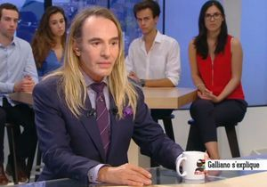 John Galliano : son incroyable confession à la télévision