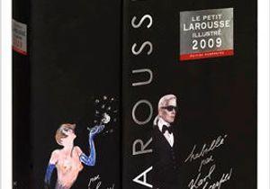 Karl Lagerfeld relooke le Larousse