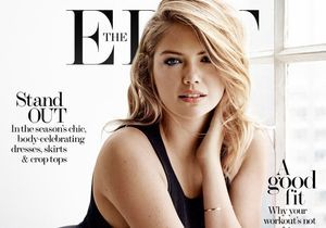 L'instant mode : Kate Upton en couv de The Edit
