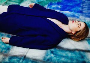 L'instant mode : le pardessus indigo d'Atelier Bartavelle