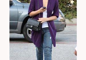 La leçon de style de Jessica Alba : un sans-faute en jean !