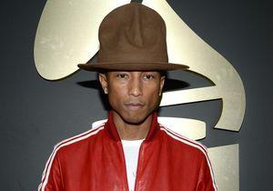 Le chapeau de Pharrell Williams aux Grammys crée le buzz