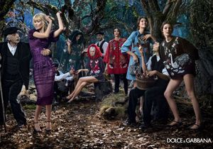 Le come-back de Claudia Schiffer chez Dolce & Gabbana