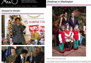Le style très « net » de Michelle Obama !