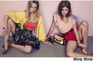 Léa Seydoux et Adèle Exarchopoulos, égéries sexy candides pour Miu Miu