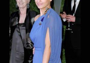 Les actrices voient la vie en bleu !