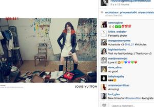 Charlotte Gainsbourg star de la première campagne Louis Vuitton de Nicolas Ghesquière