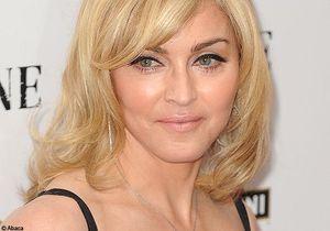Madonna sur le shooting de la campagne Dolce & Gabanna